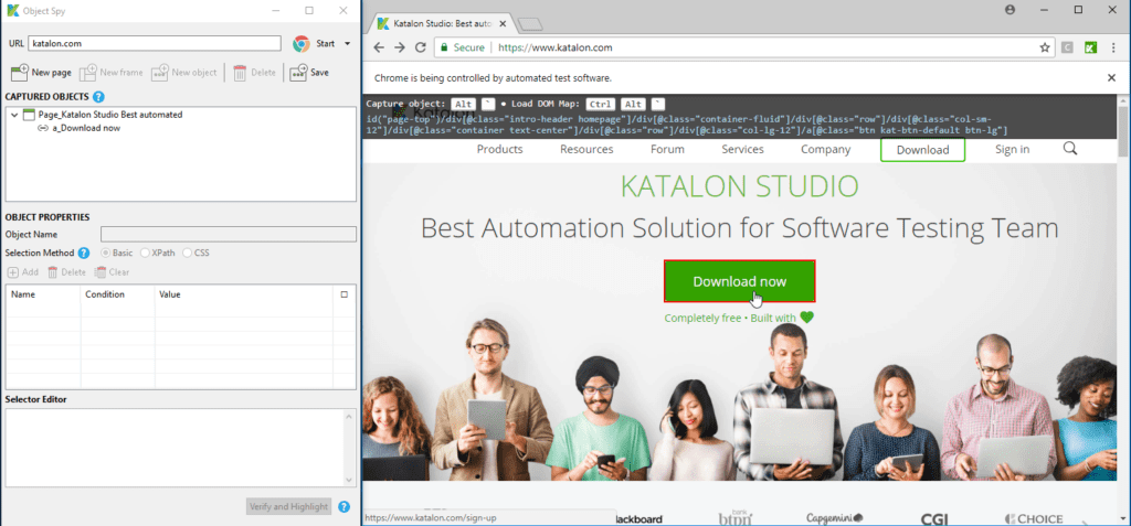 Katalon Studio vs Selenium based open source frameworks