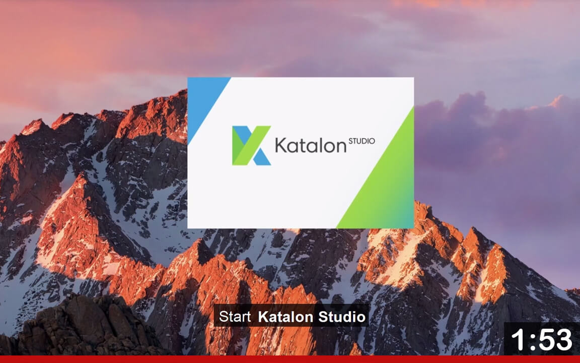 Katalon Studio - Quick start