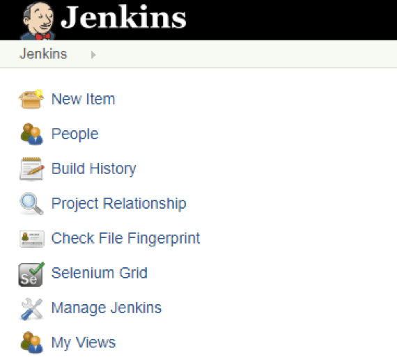 Create New item in Jenkins