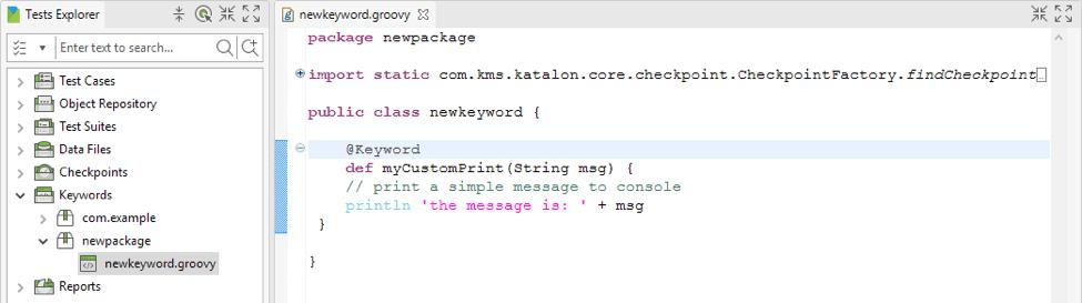 在Java / Groovy中定义自定义关键字