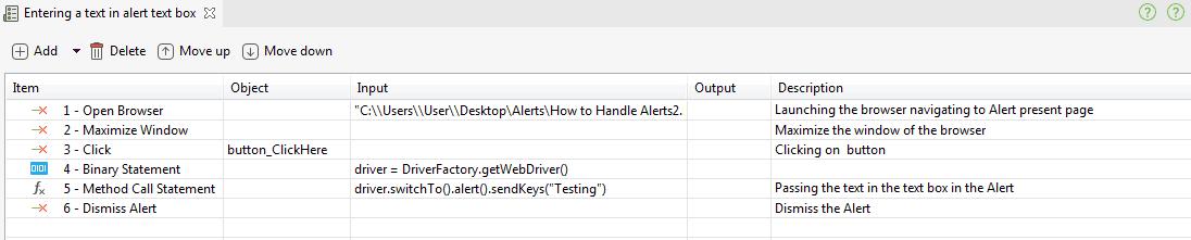 How to Handle Alerts Using Katalon Studio - DZone Web Dev