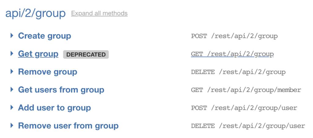Organize API endpoints