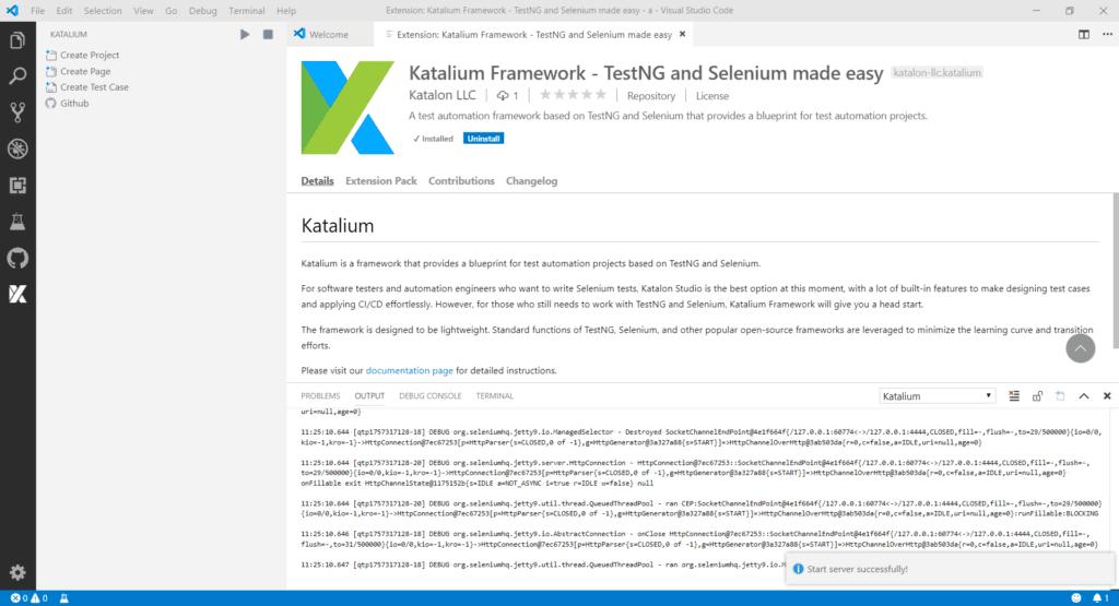 Katalium Framework