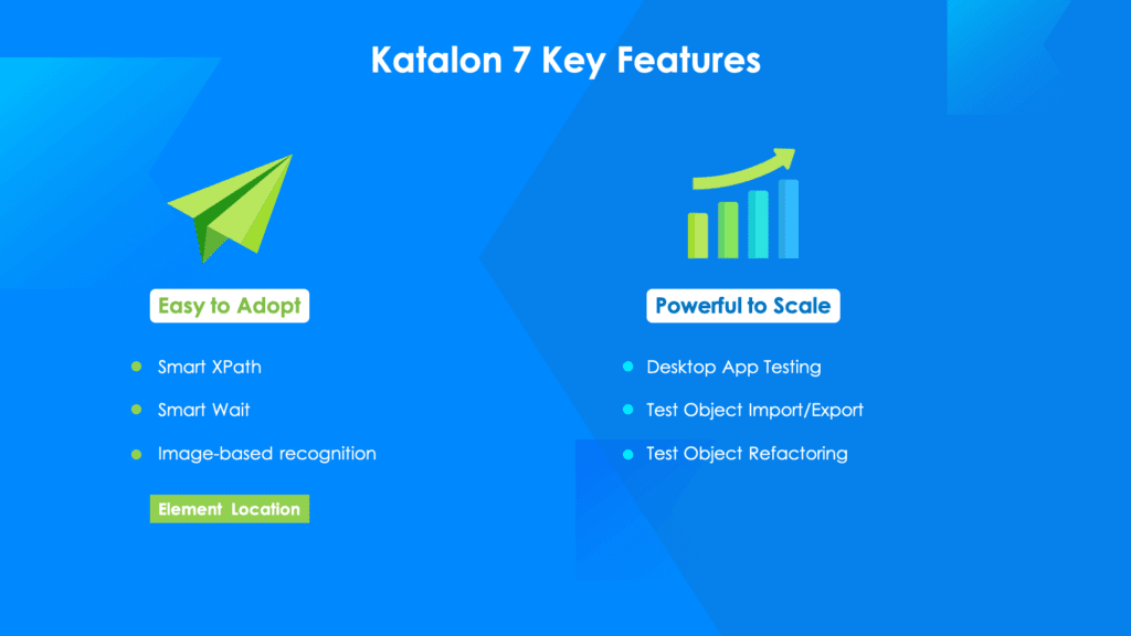 Katalon Studio 7 Key Features