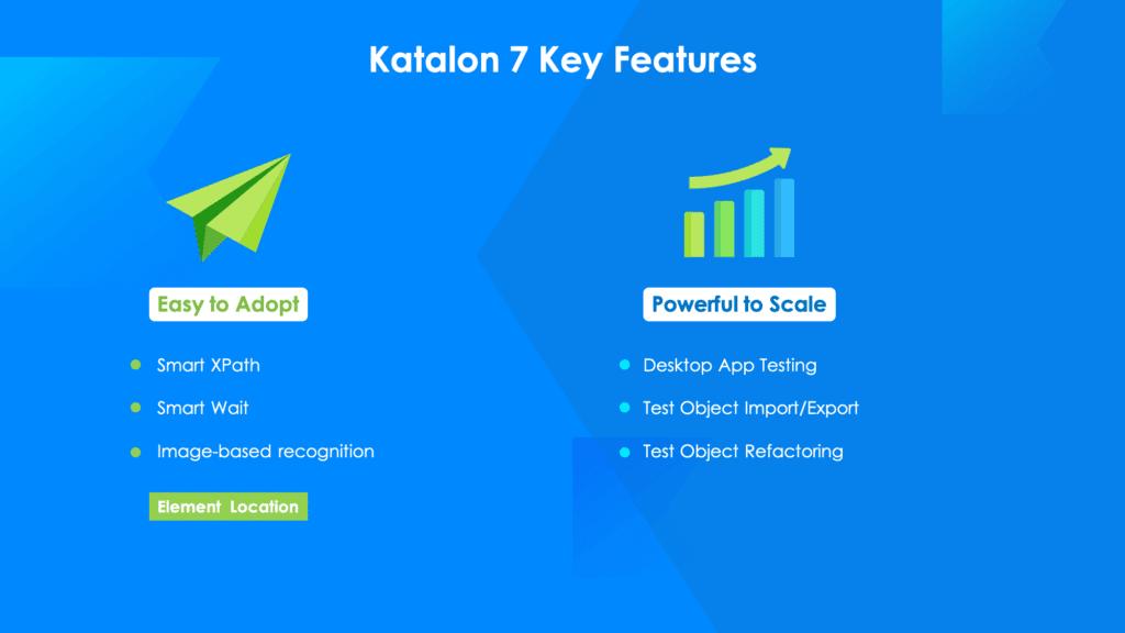 Katalon Studio 7 Key Features