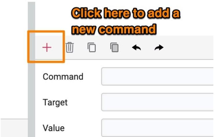 add command katalon recorder