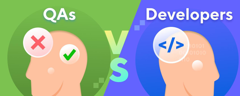 QA engineers vs Developers